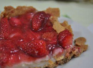 Torta de Morangos Fácil